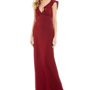 Burgundy formal dree